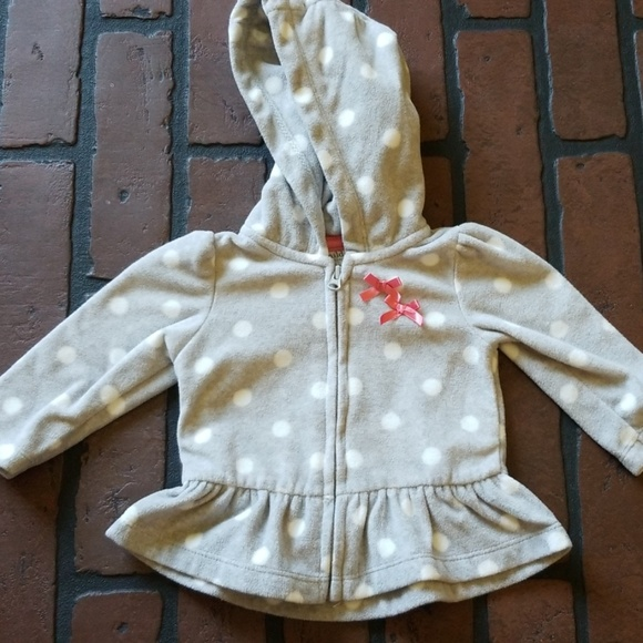 Carter's Other - Carters infant zip up sweater 0-3 months